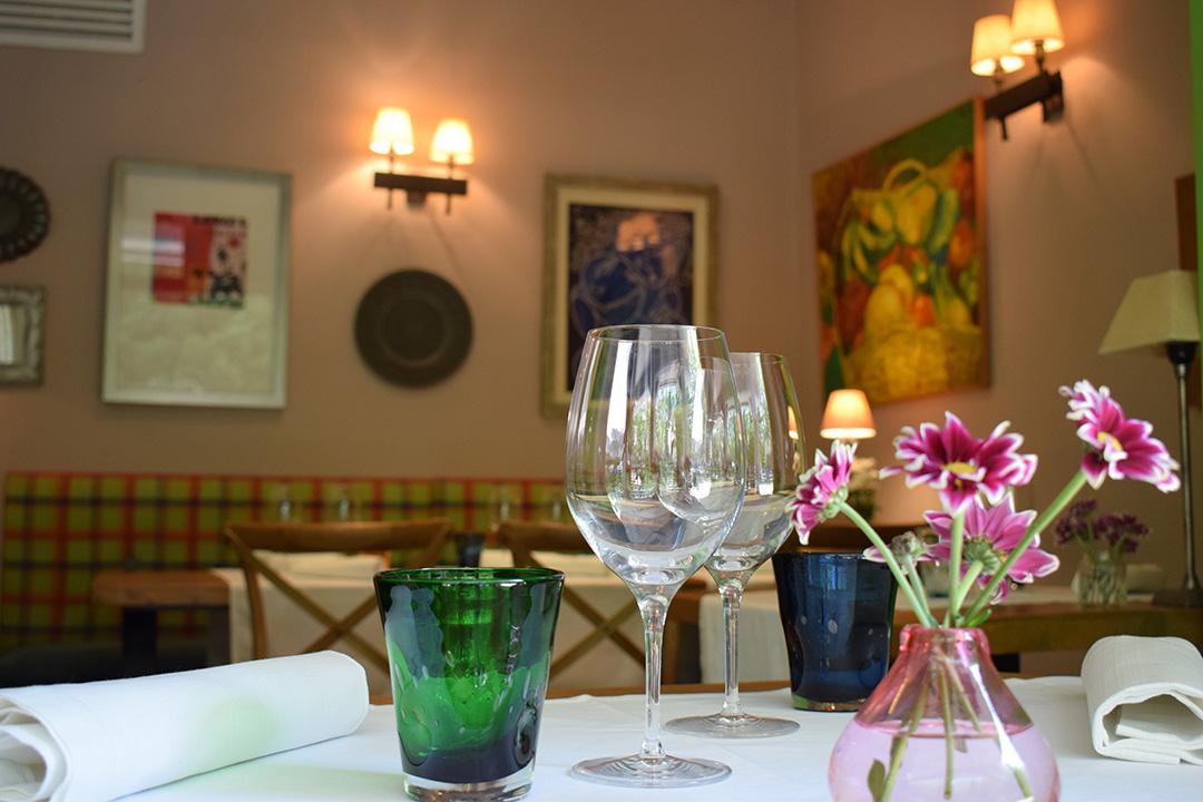 Mesa Restaurante Basílico